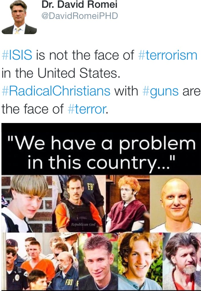 Radical Christians Are The Terrorists?