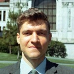 A clean-cut Kaczynski while teaching at Berkeley