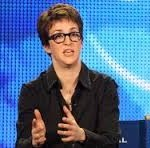 Rachel Maddow hosts her own progressive talk show