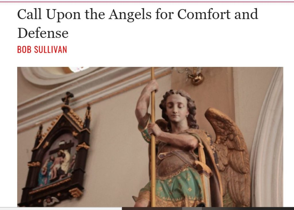 Call Upon the Angels for Comfort and Defense