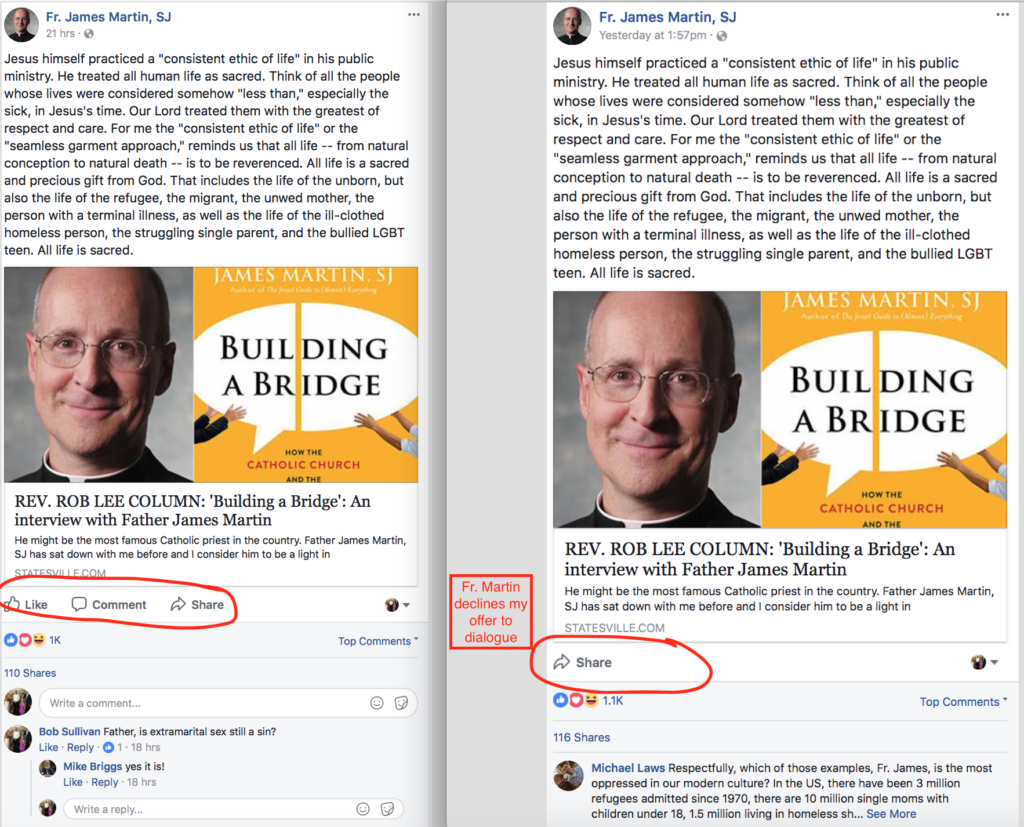 What Does Fr. Martin Really Believe?
