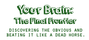 Your Brain: The Final Frontier