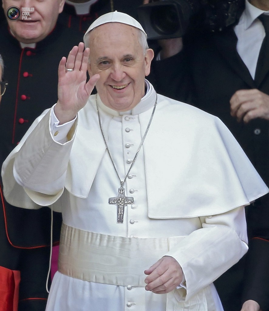 The Pope is Christ's Vicar on Earth
